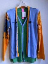 sale60%off discovered / ディスカバード × archivist. remake layered cardigan.