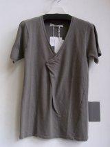 sale 50%off robert geller / ロバートゲラー overlap v neck t shirt.