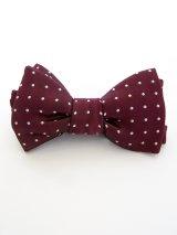 wackomaria / ワコマリア dots bow tie.