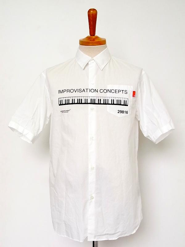 画像1: sale undercover /アンダーカバー broad shirt.