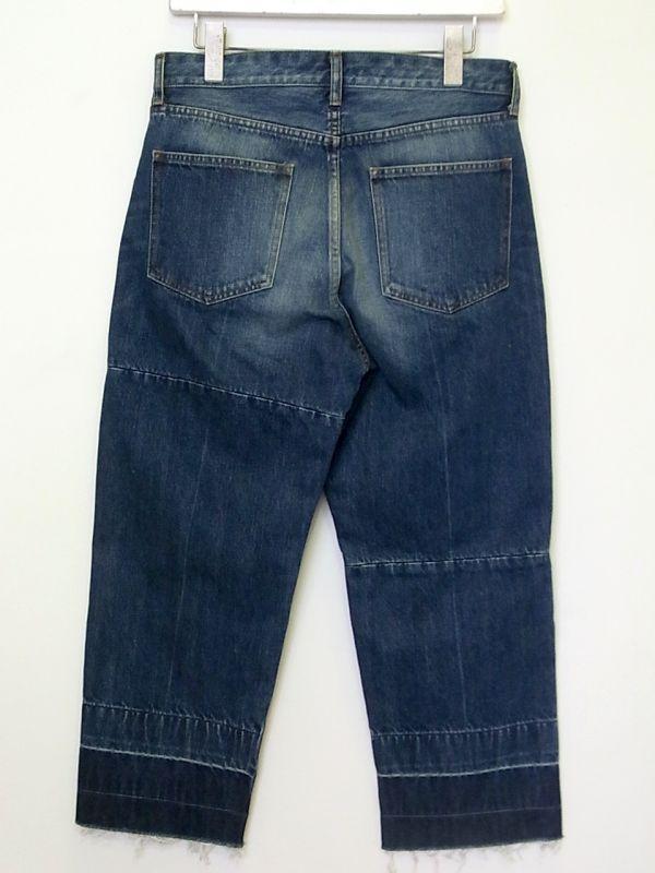 画像2: john undercover/ジョンアンダーカバー cut off denim pants.