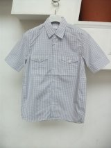 sale 50%off discovered / ディスカバード s/s militaly shirts .