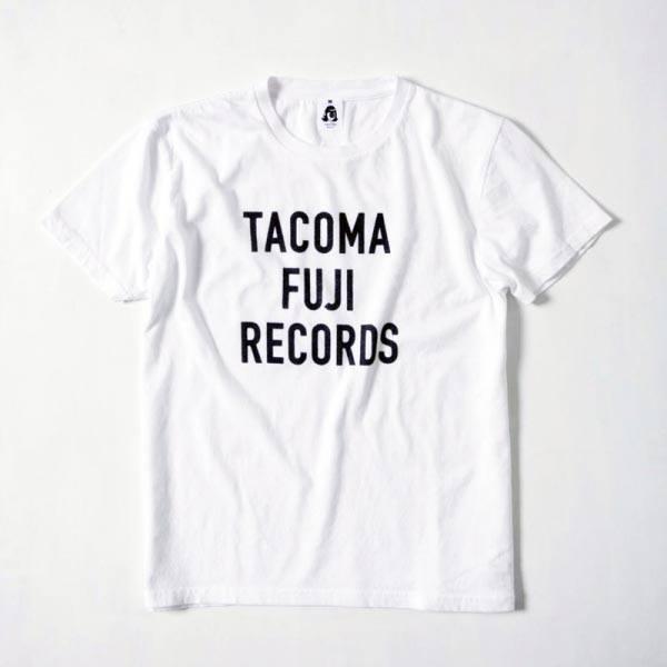 画像1: tacoma fuji records / tacoma fuji letter print tee