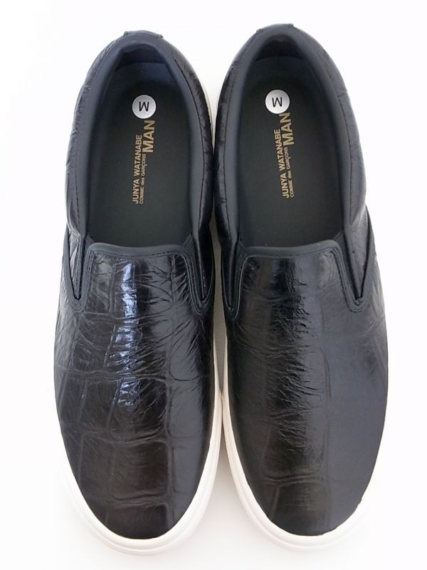 画像3: junya watanabe comme des garcons man emboss crocodile leather slip on.